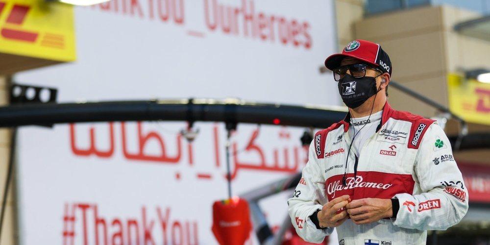 """Räikkönen: """"Mi carrera se vio comprometida desde el principio, sufrí daños en ambas salidas"""""""