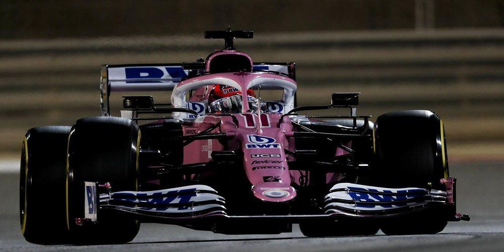 """Sergio Pérez: """"Estoy contento con la clasificación; no creo que la cuarta posición fuera posible"""""""