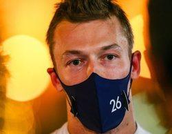 """Daniil Kvyat: """"Hicimos todo bien hoy como equipo, el mejor fin de semana del año para mí"""""""