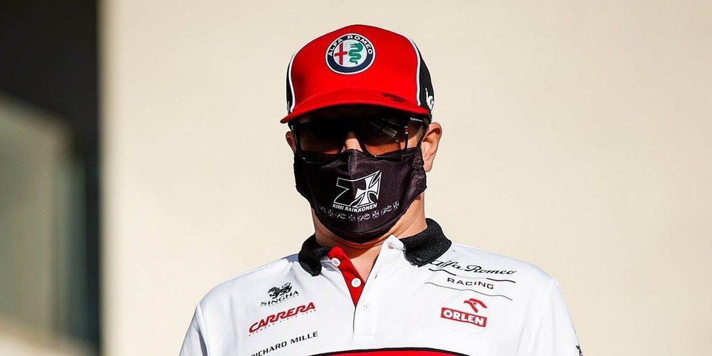 """Räikkönen: """"No pudimos hacer muchas vueltas con alta carga de combustible debido a la avería"""""""