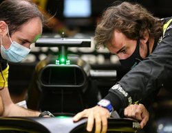 """Fernando Alonso: """"Fue bueno y muy agradable estar de vuelta en el coche"""""""