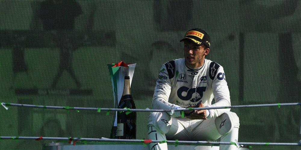 """Chandhok: """"Gasly ha superado a Kvyat, ha tenido grandes carreras y ha recuperado su reputación"""""""