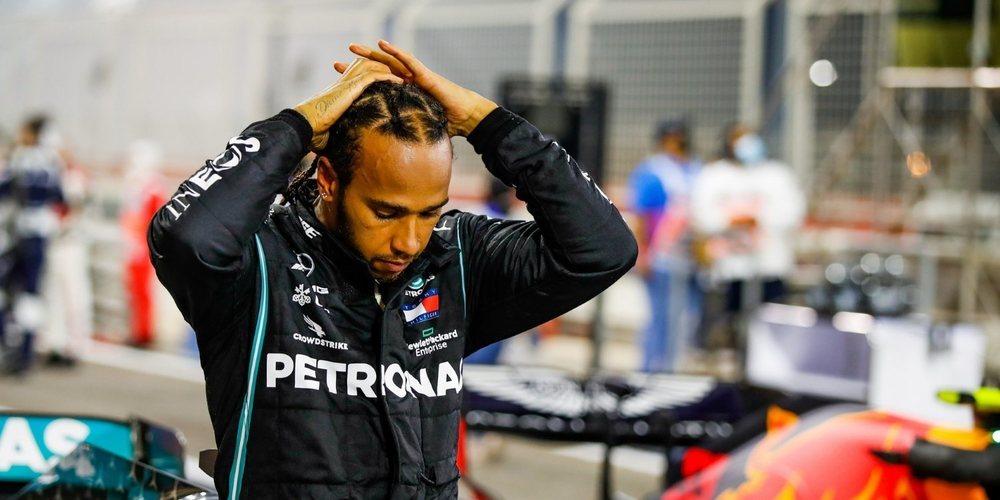 """Hamilton, orgulloso del equipo: """"Se unieron y empezaron a ayudar al NHS para intentar salvar vidas"""""""