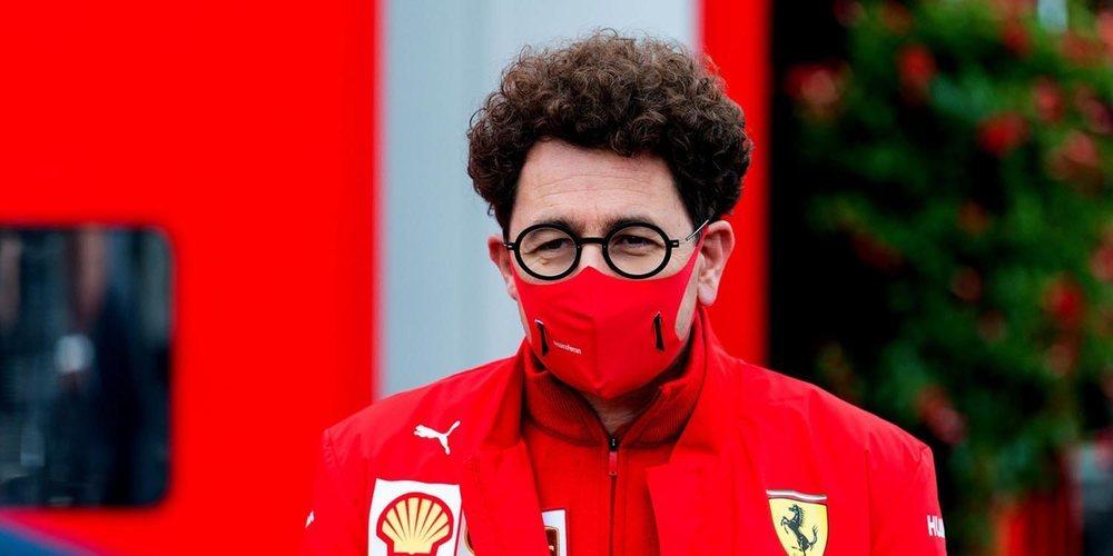 """Mattia Binotto: """"Estoy seguro de que Carlos Sainz nos ayudará para que seamos más fuertes"""""""