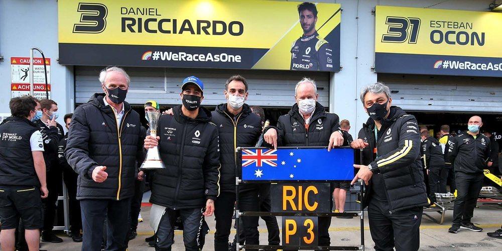 """Abiteboul, sobre Ricciardo: """"Se marcha a un gran equipo; estamos emocionados por luchar contra él"""""""