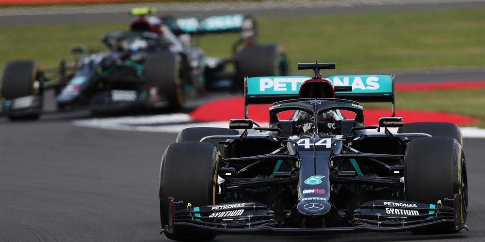 """Hamilton, sobre Bottas: """"Cada año se vuelve más fuerte y puedes ver que está subiendo el listón"""""""