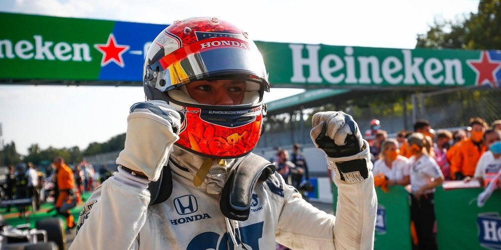 """Franz Tost: """"No solo ha sido el triunfo en Monza, sino que también hubo muchas buenas carreras"""""""