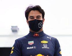 """Pérez, con los colores de Red Bull: """"Esperamos escuchar el himno mexicano muchas veces"""""""