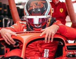 """Carlos Sainz completa su primer día de test con Ferrari: """"No podía haber deseado un inicio mejor"""""""