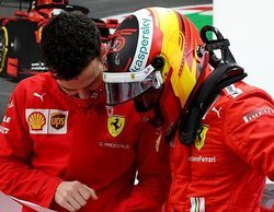 """Charles Leclerc, sobre Carlos Sainz: """"Sabe lo que está haciendo, no necesita consejos"""""""