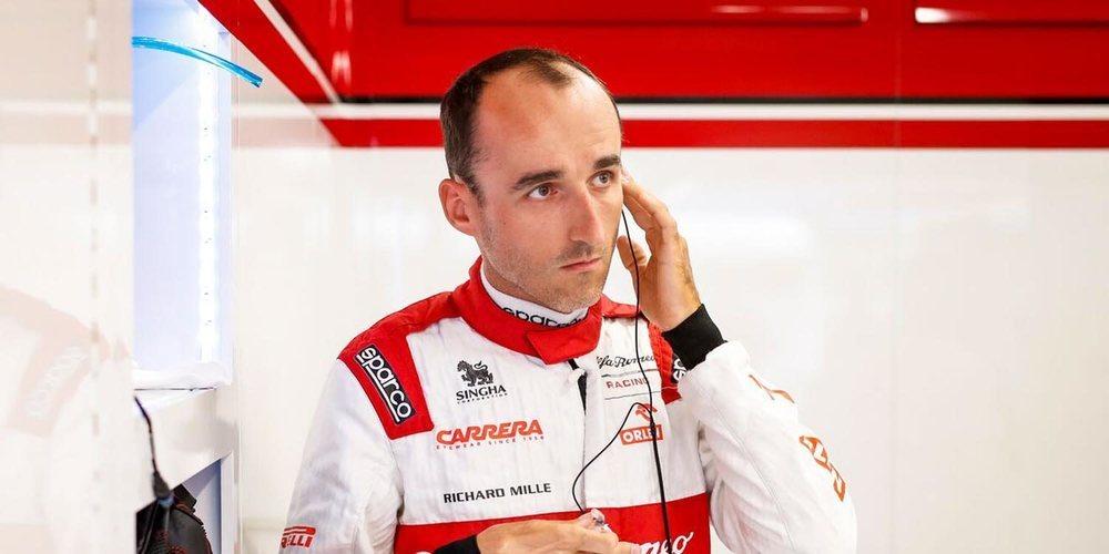 """Kubica: """"Como piloto reserva de Alfa Romeo no tienes mucho tiempo para adaptarte al coche"""""""