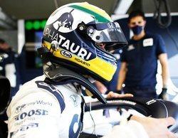 """Pierre Gasly: """"He donado el casco que utilicé en el GP en Imola a la familia Senna"""""""