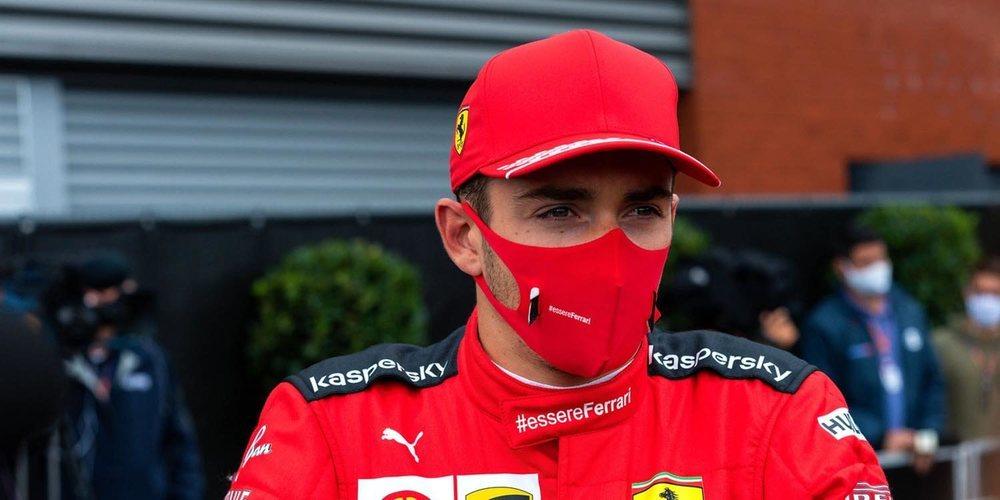 """Valentino Rossi: """"Leclerc es de los mejores, ahora Ferrari tiene que diseñar un coche a la altura"""""""