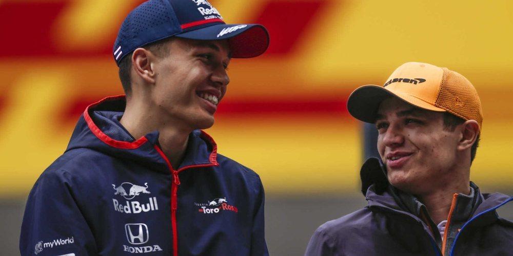 """Lando Norris, sobre Alex Albon: """"La Fórmula 1 puede ser un mundo muy difícil e injusto"""""""