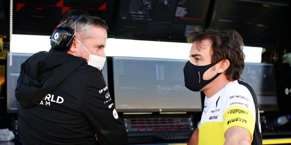 """Fernando Alonso: """"Nuestro trabajo es luchar por estar por lo menos en el Top 10"""""""