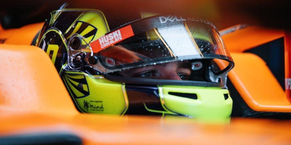 """Lando Norris y su promesa: """"Haré un 'shoey' si Ricciardo y yo estamos en el podio"""""""