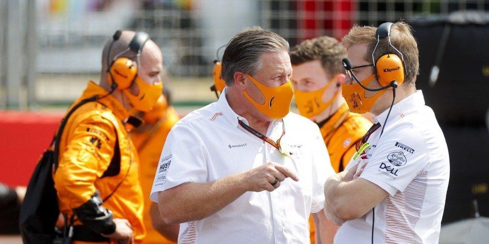 """Zak Brown, sobre Alonso: """"Tengo buenos recuerdos de nuestro tiempo juntos en McLaren"""""""