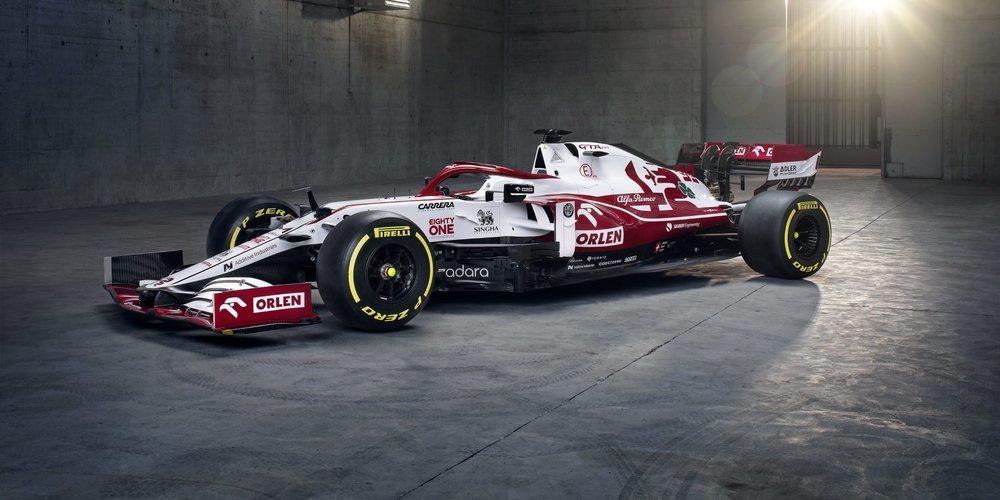 Alfa Romeo Racing presenta su monoplaza para 2021: el C41
