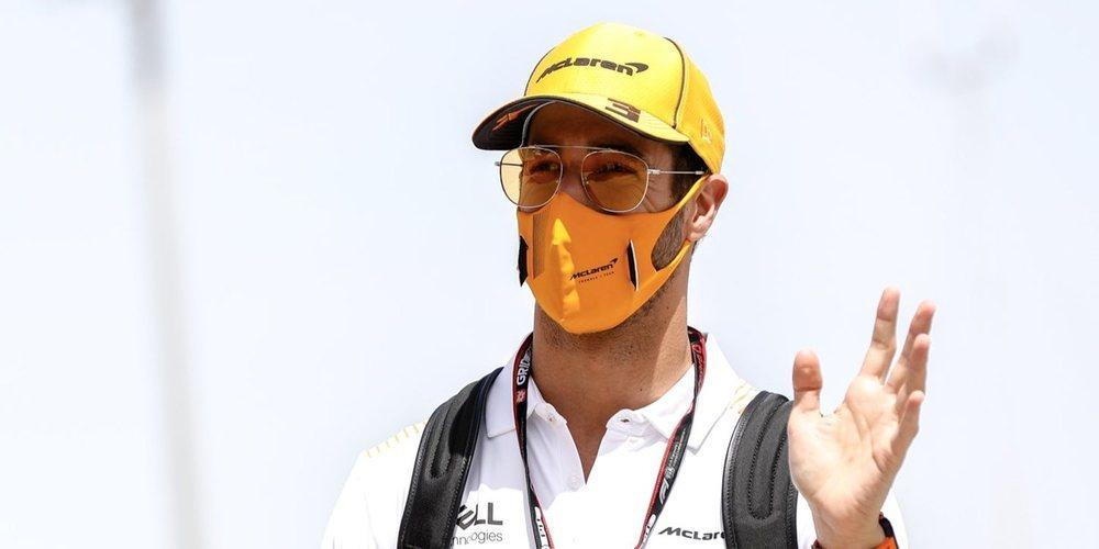 """Daniel Ricciardo: """"Es sin duda un buen inicio de temporada y creo que nos irá bien mañana"""""""