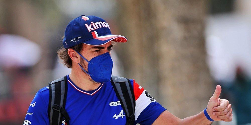 """Fernando Alonso: """"Intentaremos recuperar algunas posiciones desde nuestro punto de partida"""""""