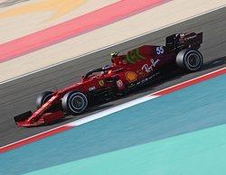 """Carlos Sainz, sobre Ferrari: """"Estoy contento, hubo un gran paso adelante en comparación a 2020"""""""