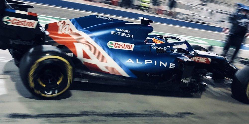 Alpine promete un nuevo paquete de mejoras para el GP de Emilia Romaña