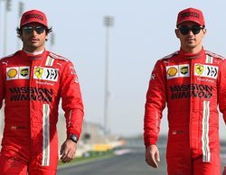 """Leclerc, de Sainz: """"Se puede ver que quiere hacerlo muy bien de inmediato, es contagioso"""""""