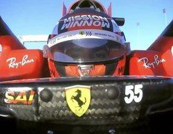 """Carlos Sainz, ser piloto Ferrari: """"Solo quiero aprovechar al máximo esta oportunidad, disfrutar"""""""