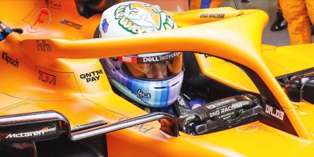 McLaren sigue trabajando en su regreso y anuncia a un nuevo socio, QNTMPAY