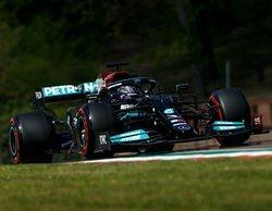 Lewis Hamilton vuela en Imola y se lleva su primera Pole de la temporada