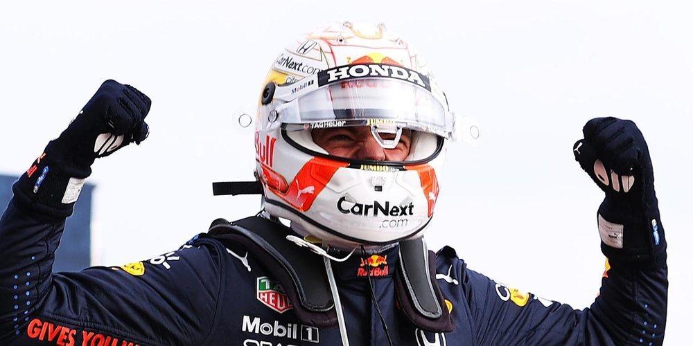 """Max Verstappen: """"Estoy muy contento por esta victoria para el equipo y Honda"""""""