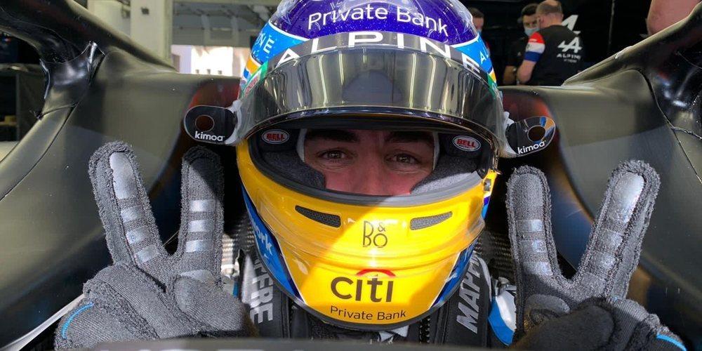 """Fernando Alonso: """"Alpine cuenta con el potencial para ser campeón del mundo en el futuro"""""""