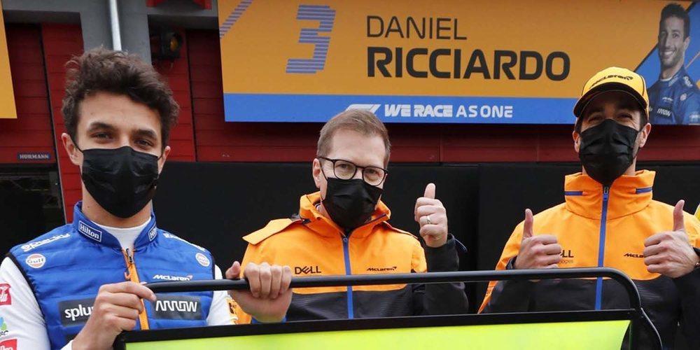 """Damon Hill: """"Norris parece haber subido de nivel, está cómodo en el coche y seguro de sí mismo"""""""