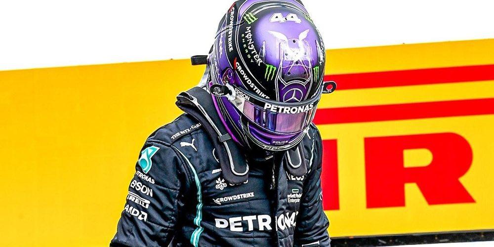 "Villeneuve: ""Pudimos ver en Imola que Hamilton no está acostumbrado a tomar grandes riesgos"""