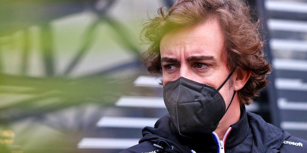 """Fernando Alonso: """"Necesito trabajar más duro y prepararme mejor para estar al 100% pronto"""""""
