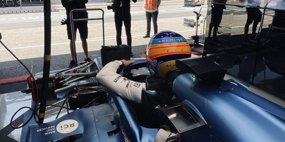 """Alonso: """"Un buen día de entrenamientos para mí, el más cómodo que he tenido esta temporada"""""""