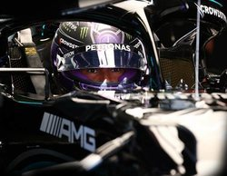"""Hamilton: """"Este fin de semana estará ajustado; tenemos tiempo que extraer del coche y mejoras que hacer"""""""