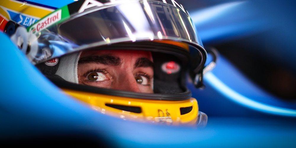 """Fernando Alonso: """"Perdimos algo de rendimiento entre los Libres 3 y la Clasificación"""""""