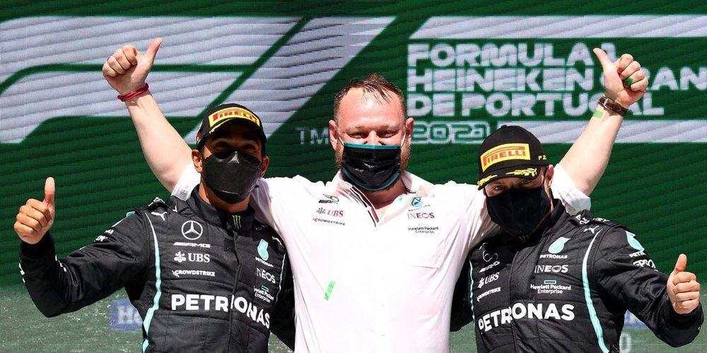 """Hamilton: """"La diferencia está tan ajustada entre nosotros y Red Bull que cualquier punto cuenta"""""""