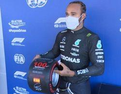 Lewis Hamilton consigue la pole número 100 en el Gran Premio número 100 de Max Verstappen
