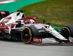"""Räikkönen: """"Estuvimos realmente cerca de los puntos una vez más, pero no obtuvimos nada"""""""