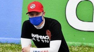 """Nikita Mazepin: """"Me llevará algunos fines de semana aprender a actuar con banderas azules"""""""