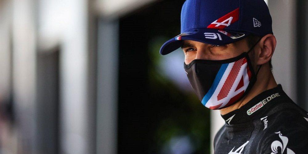"""Ocon: """"No hemos sido tan rápidos como en las últimas carreras, tenemos cosas que analizar"""""""