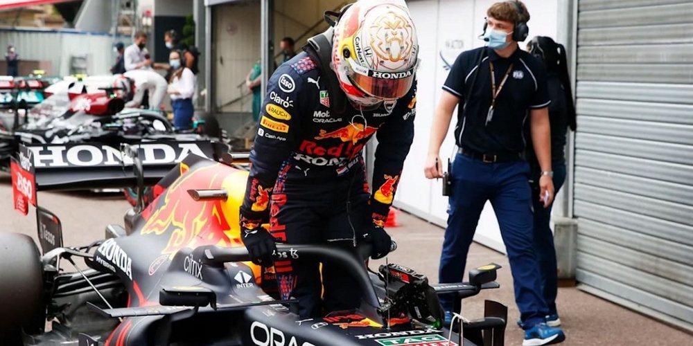 """Verstappen: """"Puedo estar bastante contento con el segundo puesto después de la bandera roja"""""""