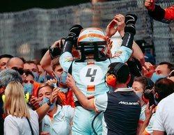 """Norris: """"¡Podio en Mónaco! Es otro trofeo y muchos puntos para nosotros, pero no podemos aflojar"""""""