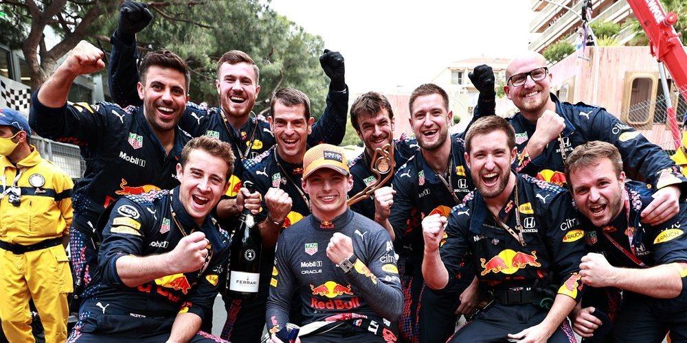 """Max Verstappen: """"Estoy muy feliz por ganar el GP de Mónaco, siempre tuvimos el control"""""""