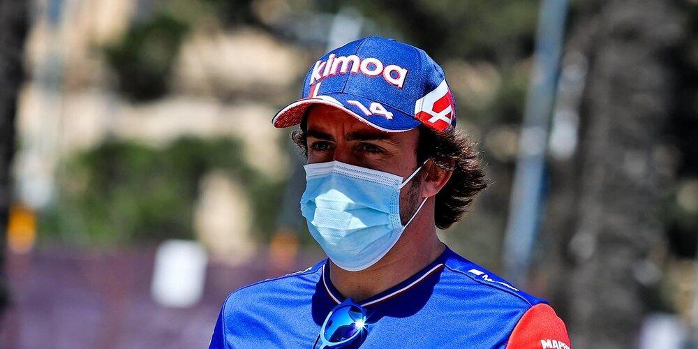 """Fernando Alonso: """"Ha sido un viernes positivo para nosotros; sentí el coche bien enseguida"""""""