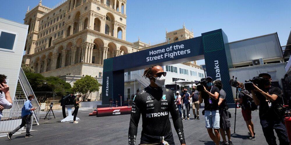 """Lewis Hamilton: """"No había más tiempo en el coche, hay mucho trabajo por hacer"""""""