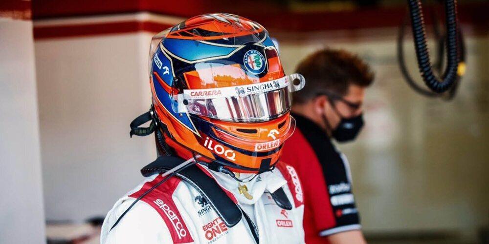 """Kimi Räikkönen: """"Parecía que éramos más rápidos con cada vuelta; podíamos haber obtenido más"""""""