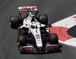 """Mick Schumacher: """"Las condiciones de la pista cambiaron bastante, fue algo inesperado para mí"""""""
